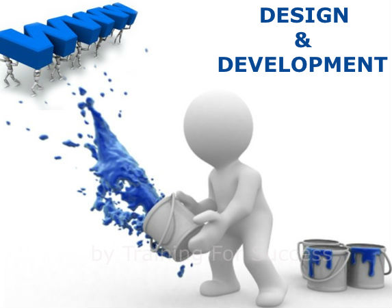 Website Design and Development by Training For Success